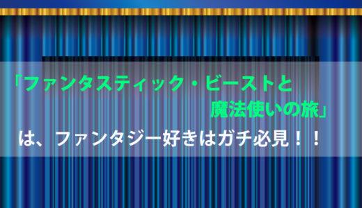 「ファンタスティック・ビーストと魔法使いの旅」ファンタジー好きはガチ必見!!